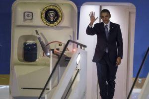 Obama aterriza en Roma