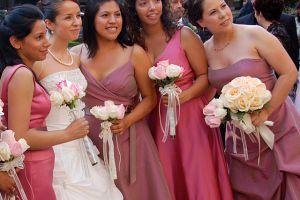 Bridesmaid dresses for every shape