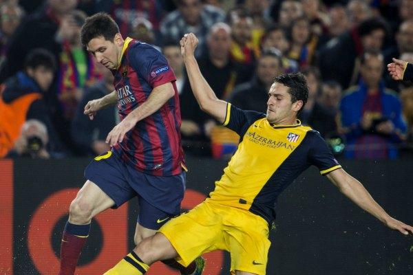Barça y Atleti empatan 1-1 en la ida de lo cuartos de la Champions (video)