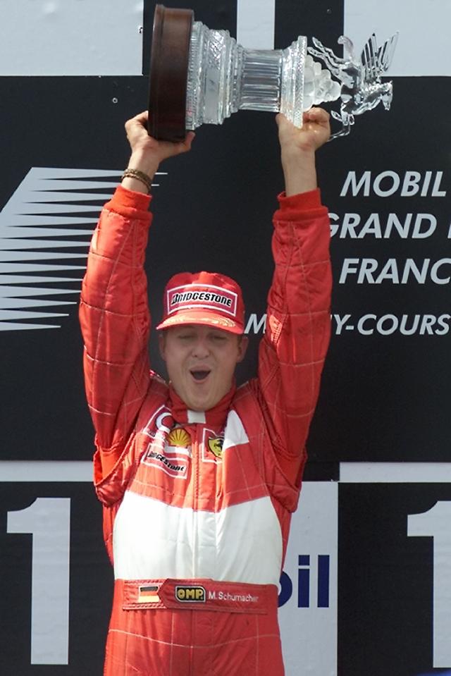 Schumacher rumbo a casa