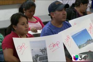 Latinos de Lake Elsinore piden alto a racismo de la policía