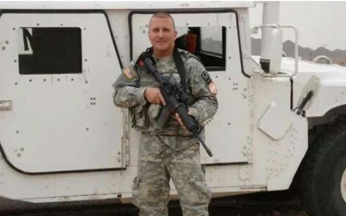 Iván López, el puertorriqueño autor del tiroteo de este miércoles en Fort Hood, en una foto de la Guardia Nacional de Puerto Rico.
