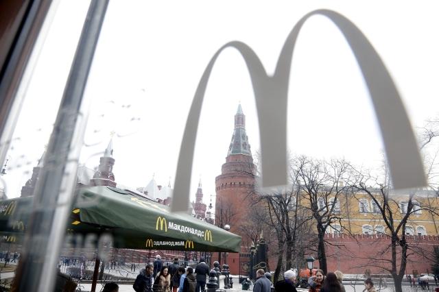 Comida rápida  en  mira de Rusia