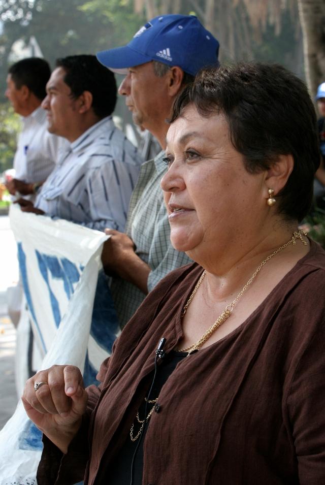 Activista sufre un infarto