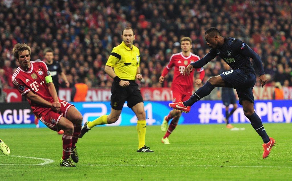 Bayern remonta ante el Man U. y se mete entre los 4 mejores de Champions