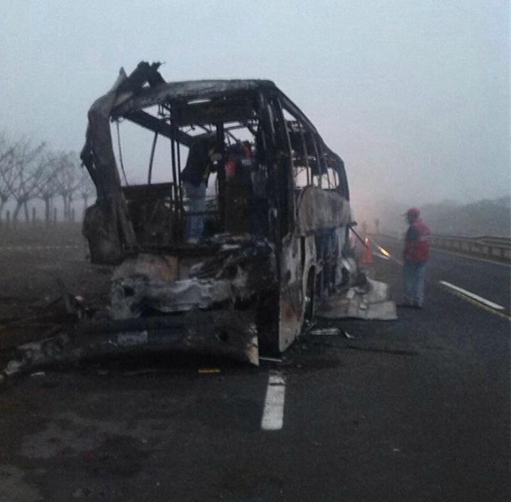 Accidente de bus en Veracruz dejó 33 muertos