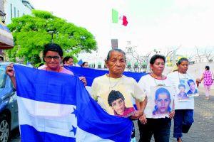 Caravana de madres de centroamericanos desaparecidos regresa a México