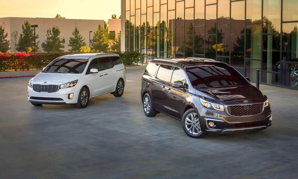 Kia presenta el Minivan Sedona, en el Auto Show de NY