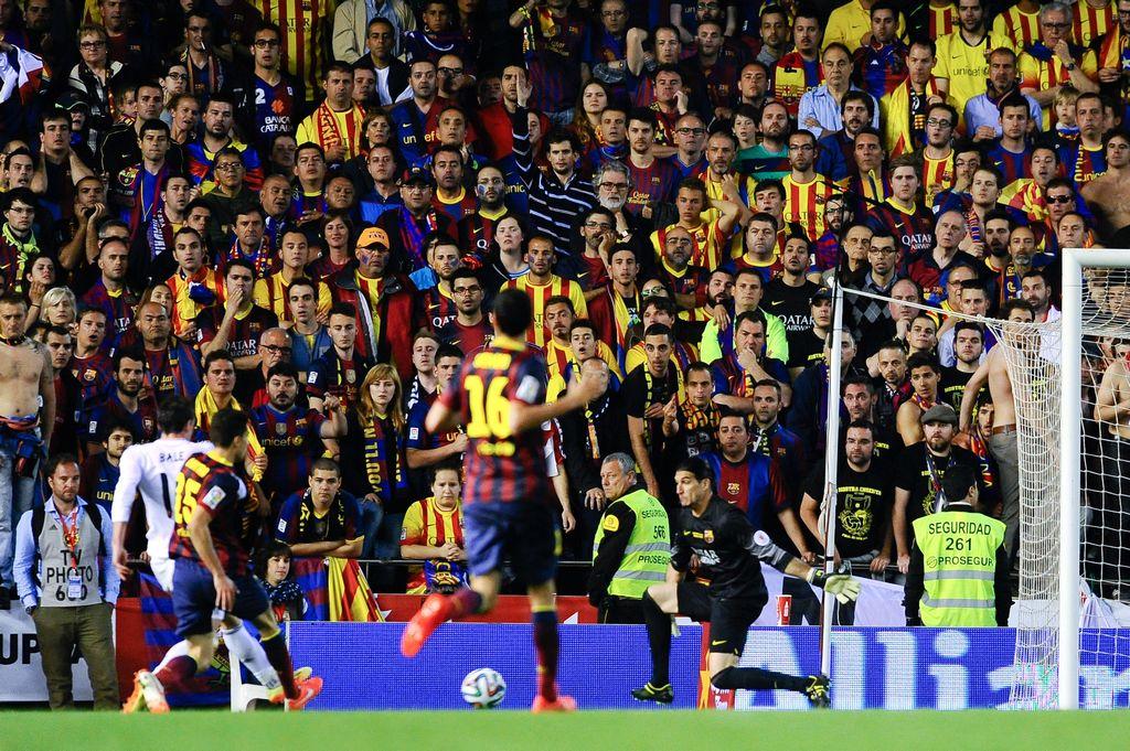 Triste realidad: el Barça de las manos vacías