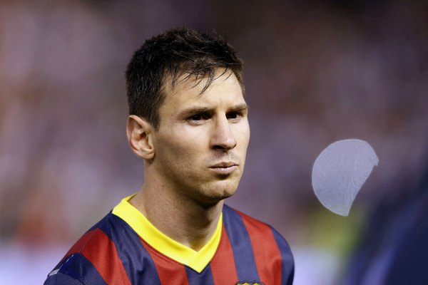 Un Messi maniatado