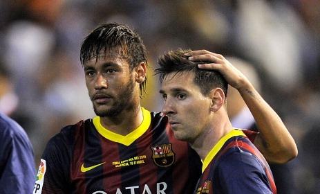 Sin rodeos… Messi desaparece, Real es campeón