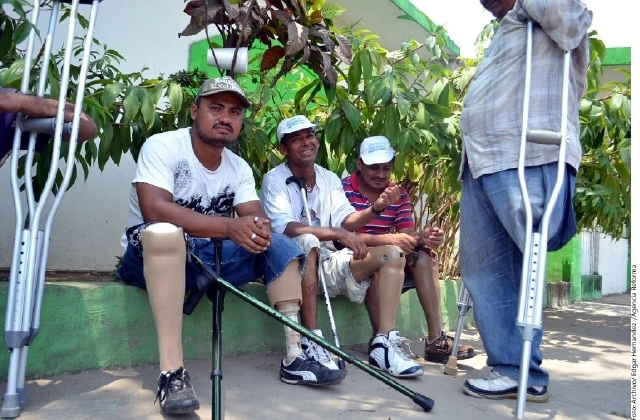 Mutilados regresan a Honduras sin ver a Peña Nieto