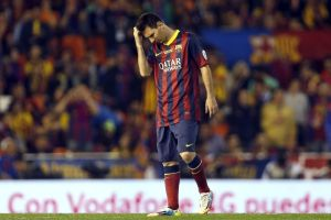 ¿Qué le pasa a Leo Messi?