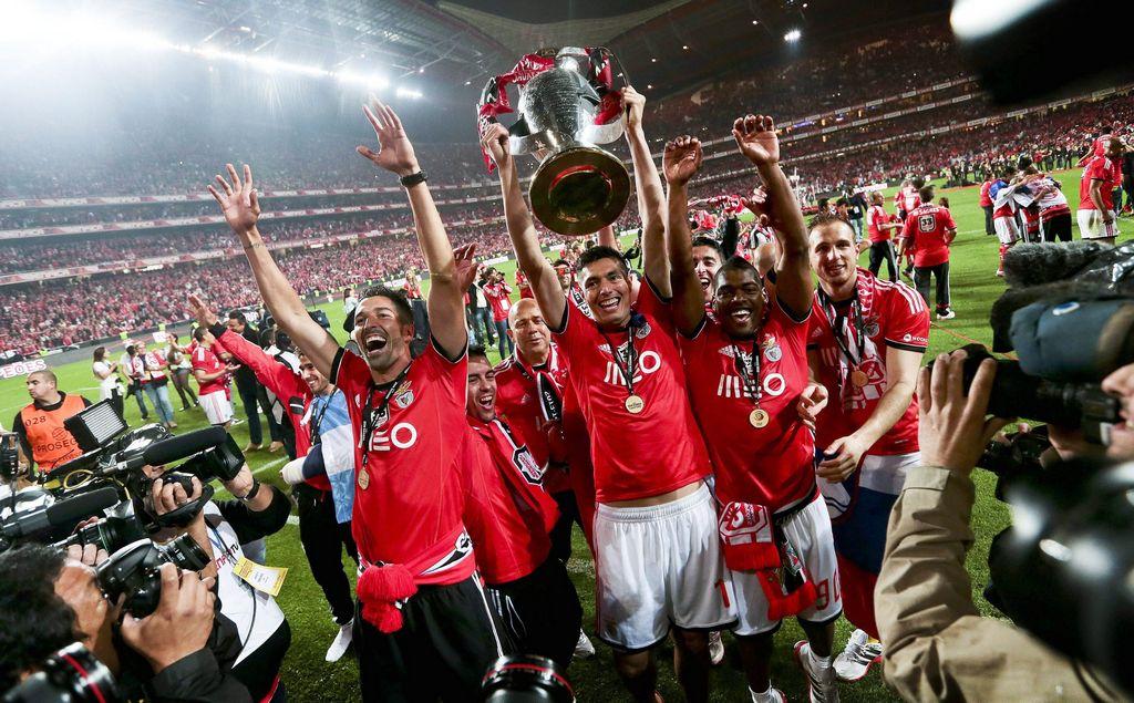 Benfica se corona nuevo campeón de Portugal