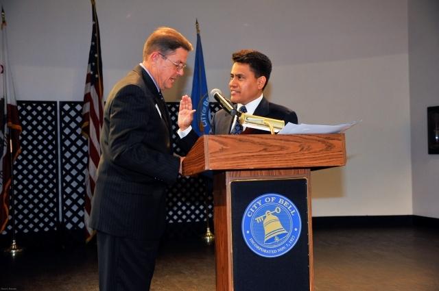 Un nuevo alcalde inicia otro capítulo para  Bell