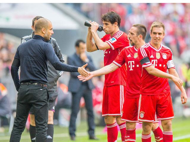 El Bayern de Guardiola golea al Bremen.
