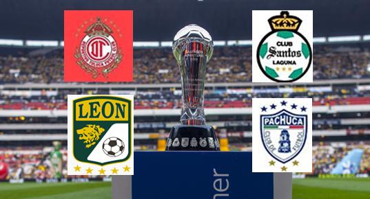 Horarios de semifinales de la Liga MX