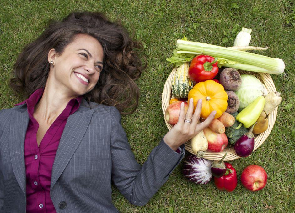 No tengas miedo de ser vegetariana