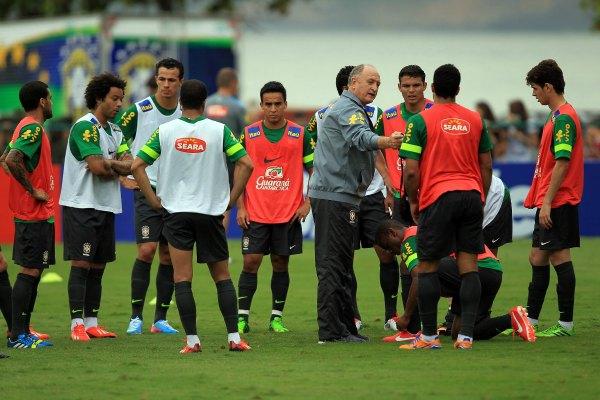 Sin sorpresas, la lista definitiva de Brasil