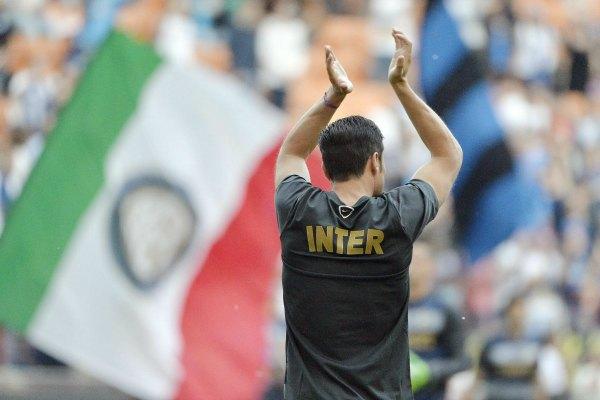 Emotivo adiós de Zanetti con el Inter (Video)