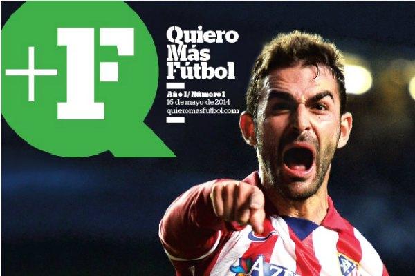 Nace la revista Quiero Más Fútbol