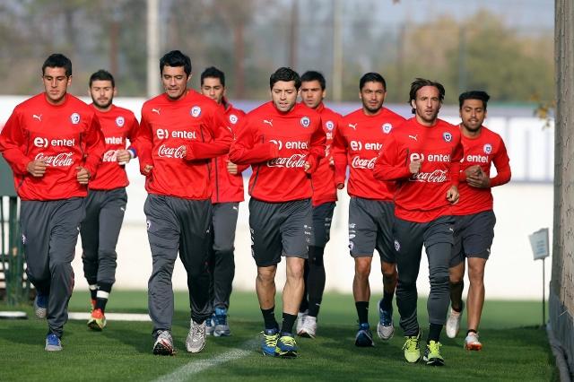 La selección chilena ya entrena a todo vapor con miras a llegar en óptimas condiciones a la Copa del Mundo.