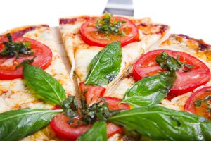 Pizzetas vegetarianas superfáciles