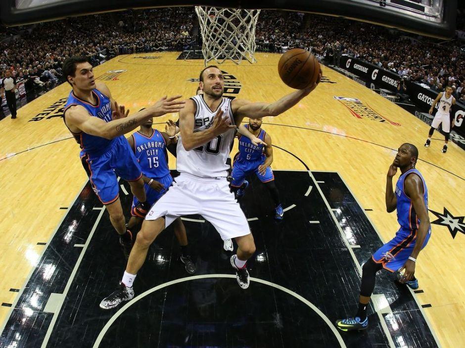 Spurs de San Antonio dominan al Thunder en juego uno