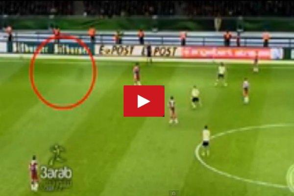 """Jugador """"fantasma"""" sorprende en la Copa Alemania (Video)"""