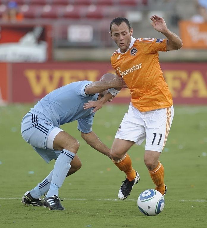 Brad Davis, del Dynamo, irá al Mundial con la selección de Estados Unidos.