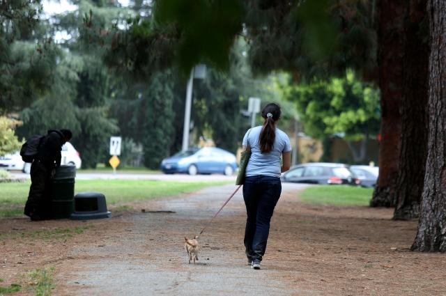 El miedo trota en  Griffith Park