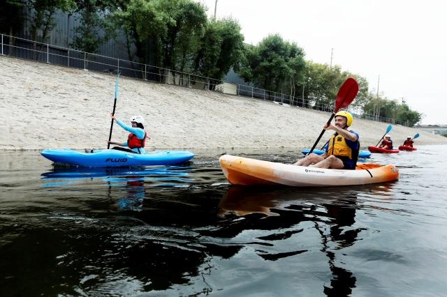 #BuenosDíasLA: Agarra tu salvavidas, que el Río de LA está listo para navegar en kayak