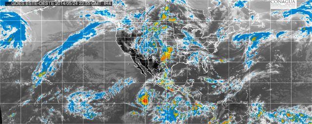 Huracán Amanda podría causar la formación de tornados en el este de México