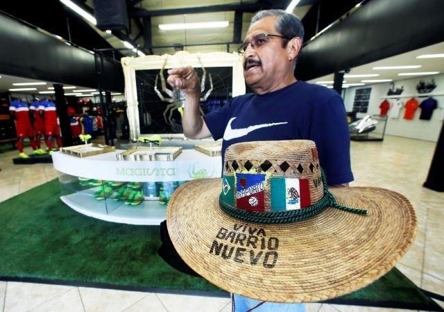 Fiebre futbolera ya se vive en Los Ángeles (fotos)