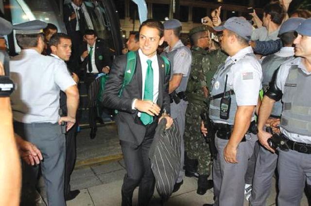 Tri llega a Sao Paulo con gran ilusión