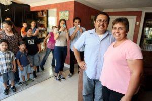 """Padre de trece hijos comparte su experiencia en el """"Día del Padre"""" (fotos)"""