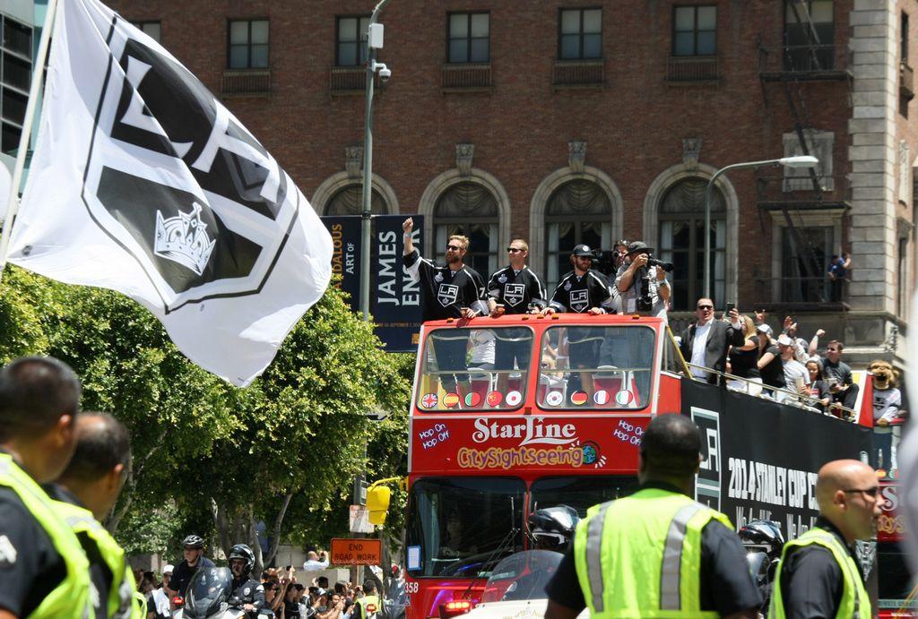 Mira: Los Ángeles de fiesta por los 'Kings' (FOTOS)