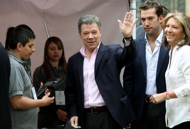 Colombia reelige a presidente Santos