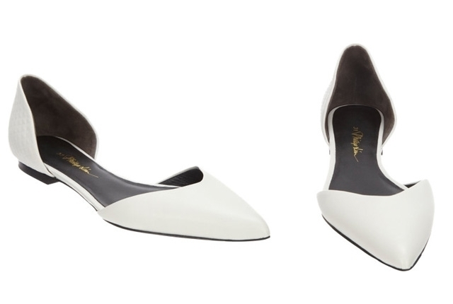 We heart zapatos blancos