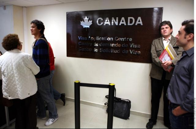 Justifican las visas  a Canadá