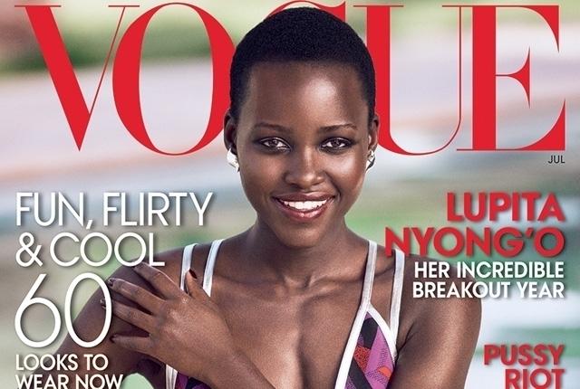 Lupita es portada de Vogue