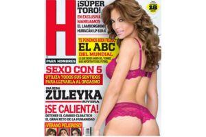 Zuleyka Rivera posó ligera de ropa para revista de caballeros