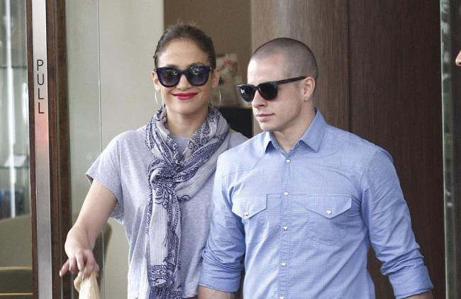 Jennifer López y Casper Smart vuelven a encontrarse