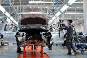 La industria automotriz británica produjo sólo 197 automóviles el mes pasado