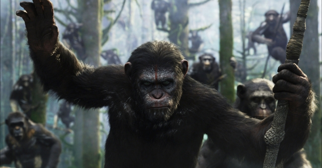 Los simios regresan  en 'Dawn of the Planet of the Apes'
