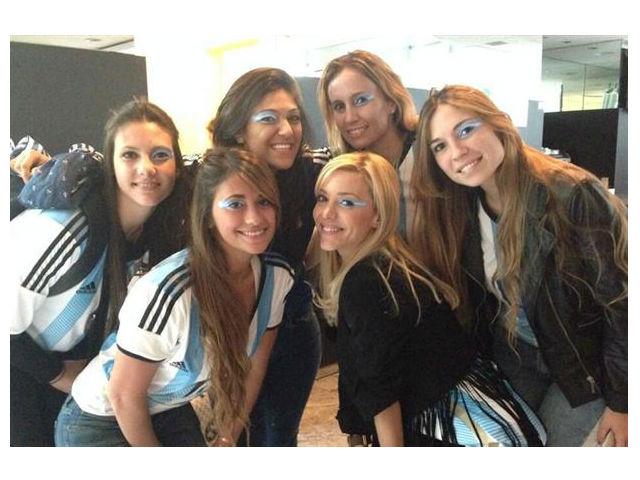 Las mujeres de la selección Argentina celebraron el triunfo, ¿quién falta?