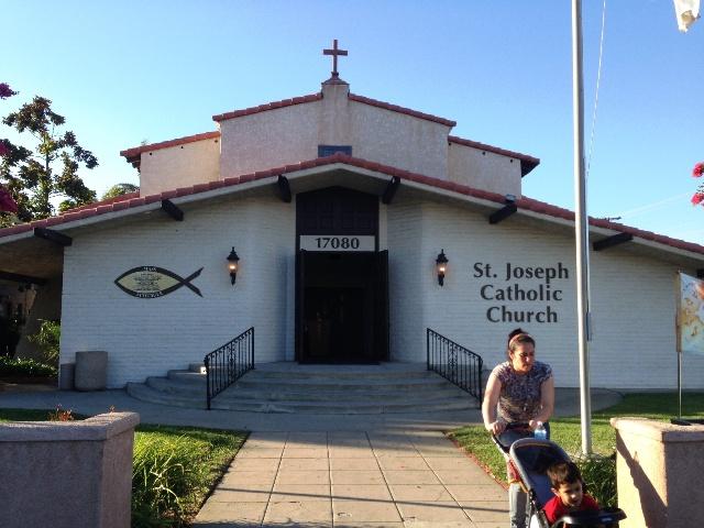 La iglesia Saint Joseph está recibiendo donaciones para los migrantes que seguirán recibiendo.