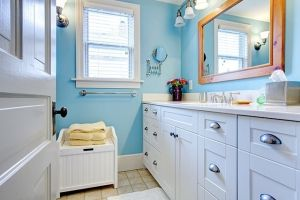 Baños: pequeños en tamaño; grandes en diseño