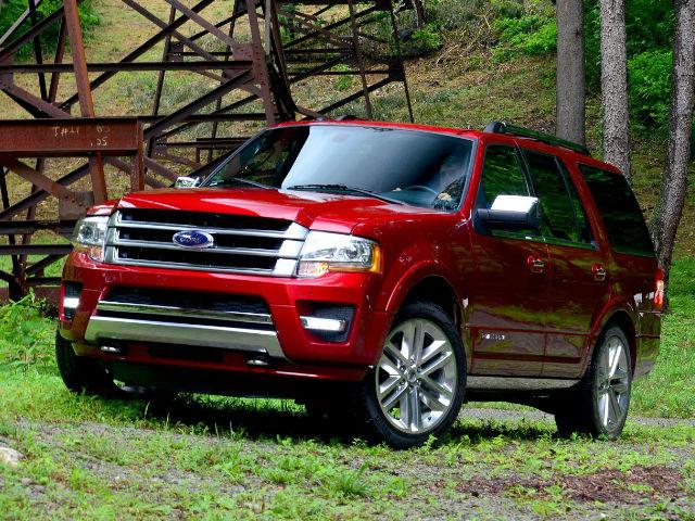"""El """"Expedition"""", que debutó en 1996, es el vehículo utilitario más grande de Ford."""