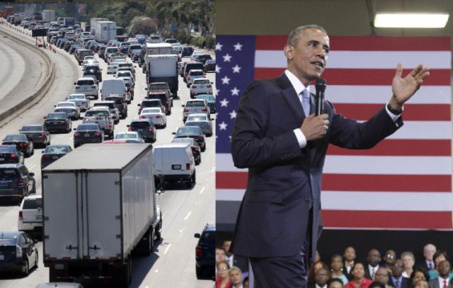 ¡Evite dolores de cabeza! Calles y rutas de buses afectadas por llegada de Obama